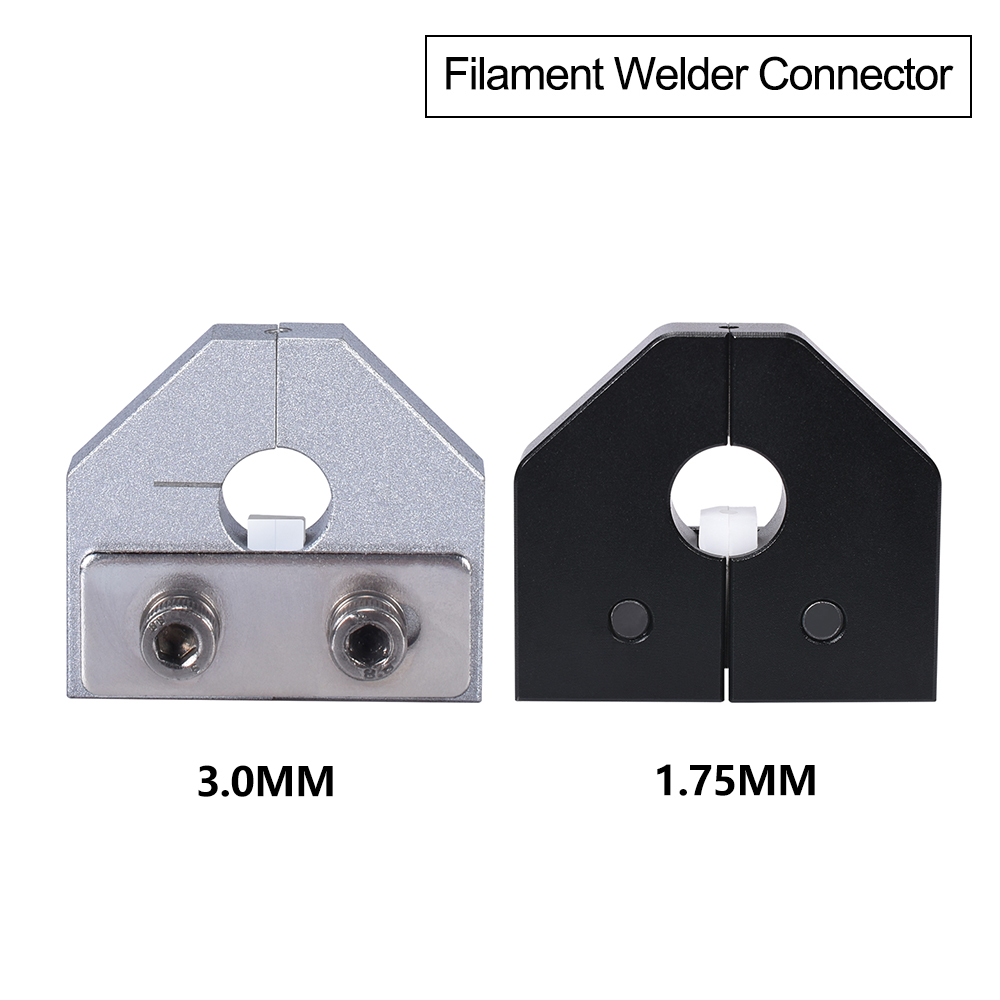 Filament Welder Connector 3D Printer Parts For 1 75mm 3 0mm PLA ABS Filament Sensor Ender 3 Pro Anet SKR 3D Printer