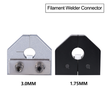 Złącze żarnika spawacz części drukarki 3D dla 1 75mm 3 0mm PLA włókno abs czujnik Ender 3 Pro Anet SKR drukarka 3D tanie i dobre opinie BIQU Mechaniczne Zestaw Części Sprzętu Filament Welder Connector 1 75 3 0MM Filament Silver Black PLA ABS
