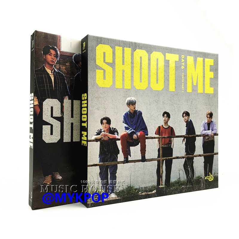 [MYKPOP] ~ 100% ORIGINAL officiel ~ DAY6 MINI #3 SHOOT ME: Album jeunesse, Collection Fans KPOP-SA19091805