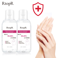 55ml Disinfection Rine-free Hand Sanitizer 75% Alcohol Gel Portable 99.9% Antibacterial Disposable Prevention Hand Sanitizer