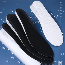 FootMaster Ultra Thin Height Increase Insoles with Breathable Comfortable Polyester Bottom Shoe Insole Height 1-3cm Unisex