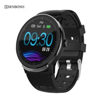 SENBONO S10 PRO Full Screen Touch Sport Smart Watch Men Women Clock Heart Rate Sleep Monitor Smartwatch Fitness tracker Bracelet 2