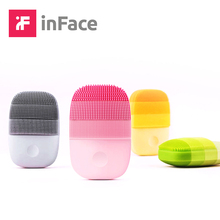 InFace cepillo eléctrico de masaje para limpieza Facial, cepillo de limpieza Facial sónica inteligente, recargable, resistente al agua