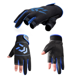 Fishing Gloves Outdoor 3 Fingers Cut Fishing Gloves Waterproof Fishing Accessories Carp Fishing Accessories