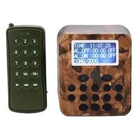 Outdoor Hunting Decoy Birds Caller MP3 Player Bird Sound Caller with Remote Control 50W Speaker 150DB Bird Amplifier CY 798|Lasers|   -