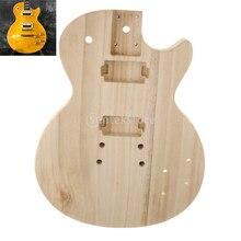 Cuerpo de guitarra inacabada apto para guitarra eléctrica ST, piezas de bricolaje de madera de Arce, mano de obra fina, duradero y seguro de usar.