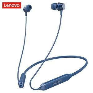 Original Lenovo sport casque sans fil HE15 Bluetooth 5.0 avec micro basse profonde écouteur actif suppression du bruit écouteurs magnétiques