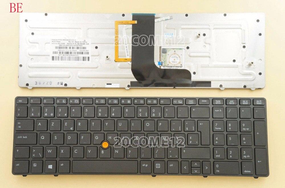 NEW for HP Elitebook 8760w 8770w Keyboard Swiss Schweizer SW Switzerland Backlit
