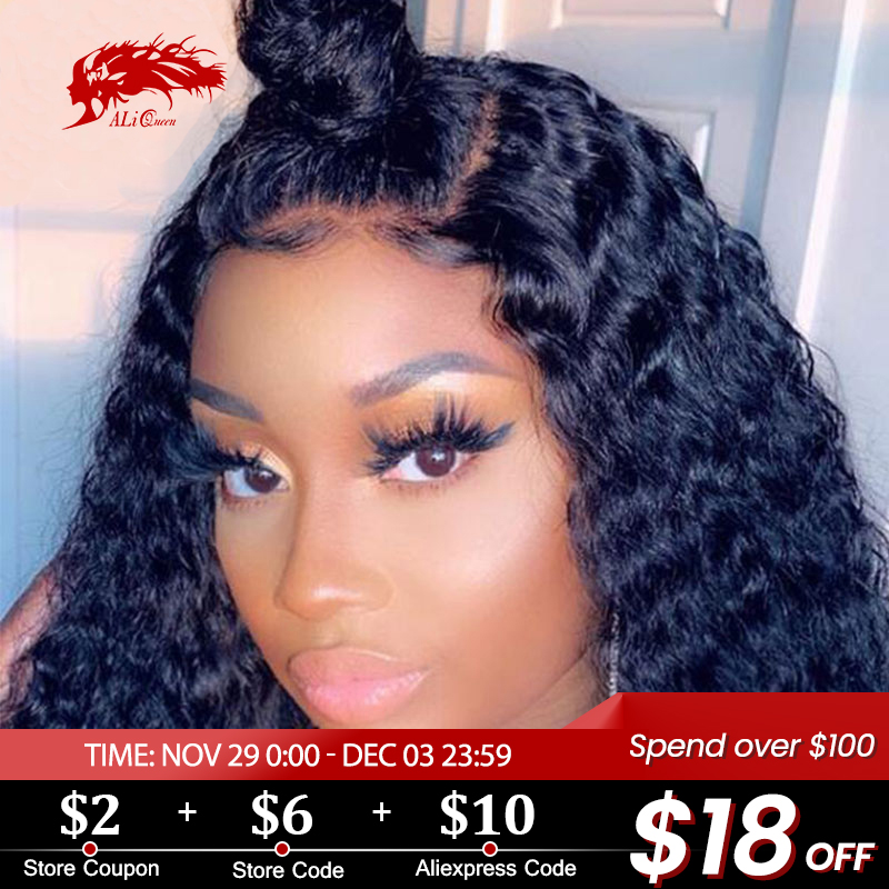 Ali Queen 13x6 Lace Front Wig Natural Color 8