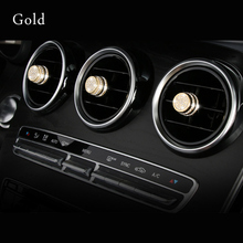 Air knob decoration For Mercedes w213 amg w205 amg/glc x253 coupe mercedes c class accessories interior trim