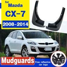 for Mazda CX7 CX-7 2008-2013 Car Rear Front Mud Flaps Fender Flares Mudguards Mudflaps Splash Guards 2009 2010 2011 2012 2pcs mud flaps for vw tiguan mk1 2008 2016 limited 2017 mudflaps splash guards front rear mudguards 2009 2010 2011 2012 2013 2014