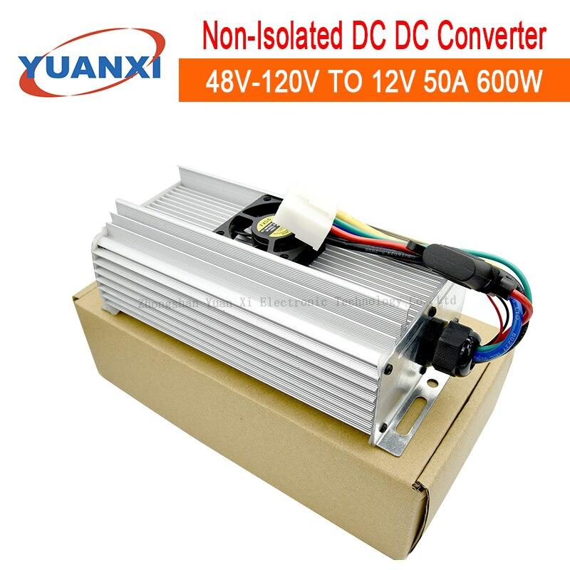 600W Step Down DC Converter 48V 60V 72V 84V 96V 108V 120V TO 12V 50A Dc Dc Buck Converter