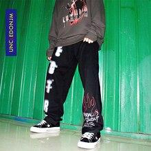 UNCLEDONJM Hip Hip Pants Streetwear Men Harajuku Baggy Pants