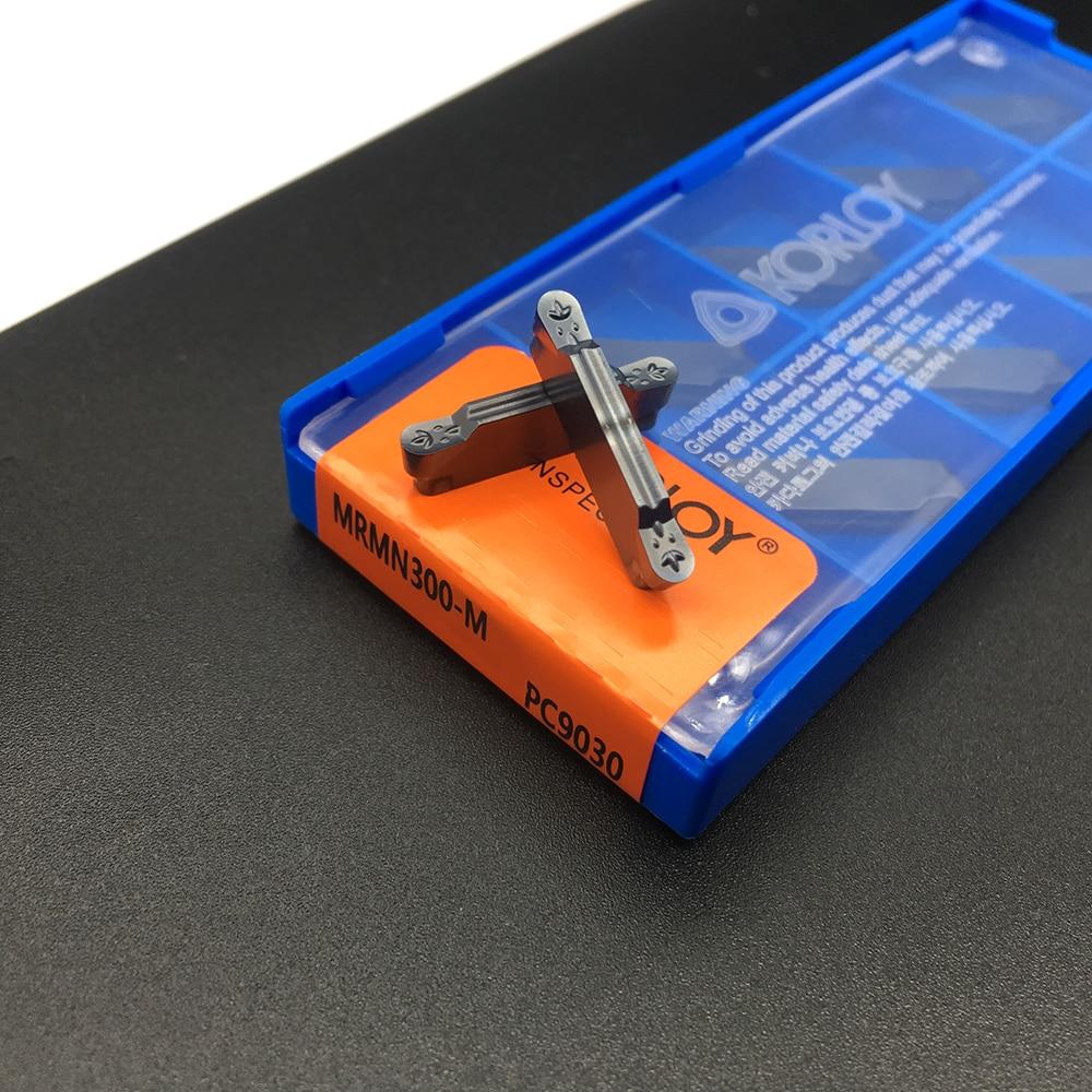 10pcs MRMN200-G PC9030 cutting insert lathe turning grooving tool milling insert