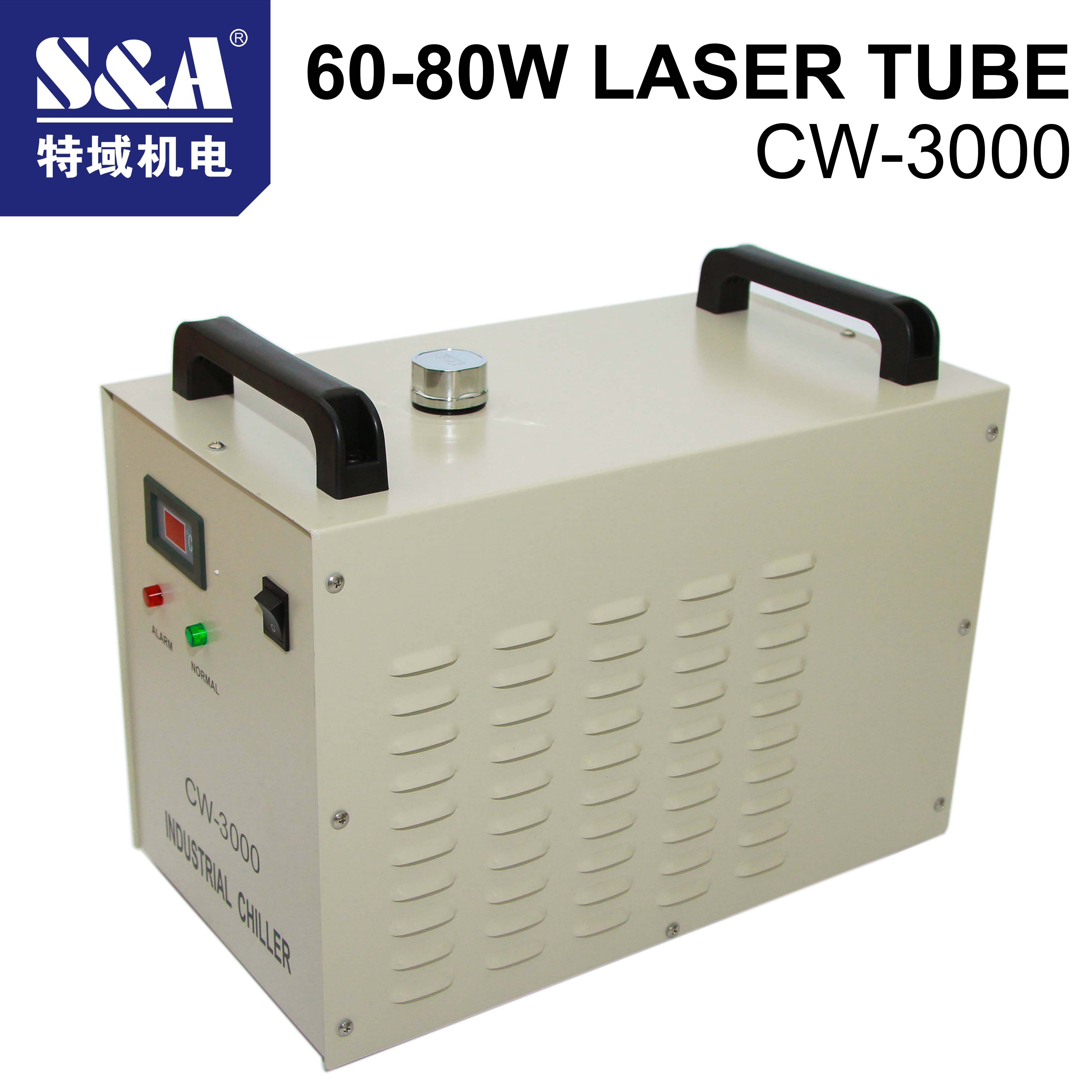 CO2 Laser Cutting Machine Industry Water Cooling Machine CW-3000  Laser Chiller