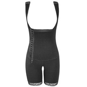 Image 5 - Mulheres busto aberto mais magro shapewear bodysuit controle de barriga levantador corpo shaper fajas colombianas S 6XL 3 cores shapers underbust