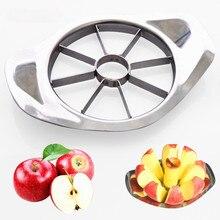 Aço inoxidável cortador de maçã frutas pêra divisor slicer corte corer cozinhar ferramentas vegetais chopper cozinha gadgets acessórios