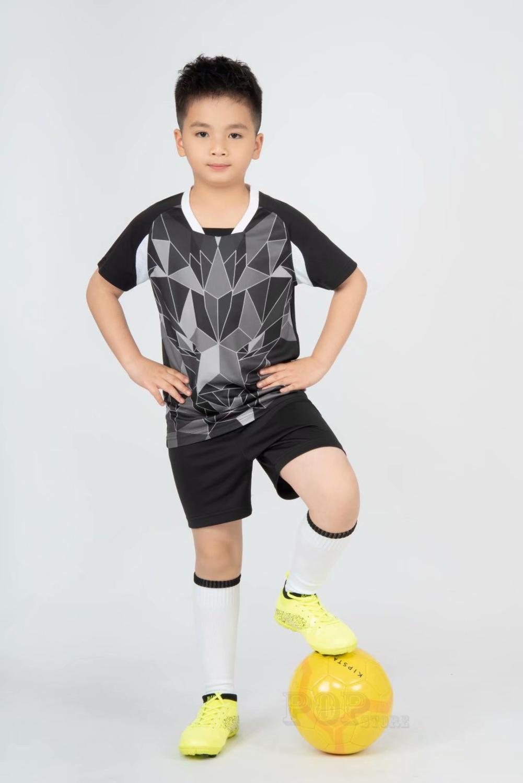 Kids football Uniforms boys girl soccer Jerseys Custom child Soccer Jersey Set Sportswear t-shirt sports suit new style 16