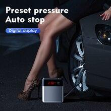 Licheers digital pneu inflator dc 12 volts carro portátil compressor de ar da bomba 150 psi compressor de ar do carro para carro suv motocicletas