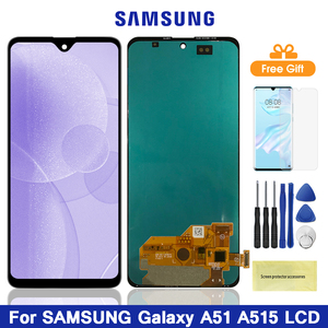 4G A515 Lcd For Samsung Galaxy A51 A515 LCD Display Touch Screen Digitizer Assembly For Samsung A51 A515FN/DS