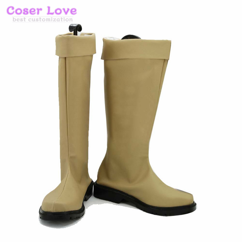 Cosplay Shoes Boots Carnaval Christmas-Party Halloween Bell Dungeon Wo Motomeru Deai