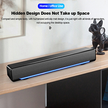 Computer Speaker Stereo Subwoofer Surround-Box Music-Player Bass 1 USB Docooler for PC