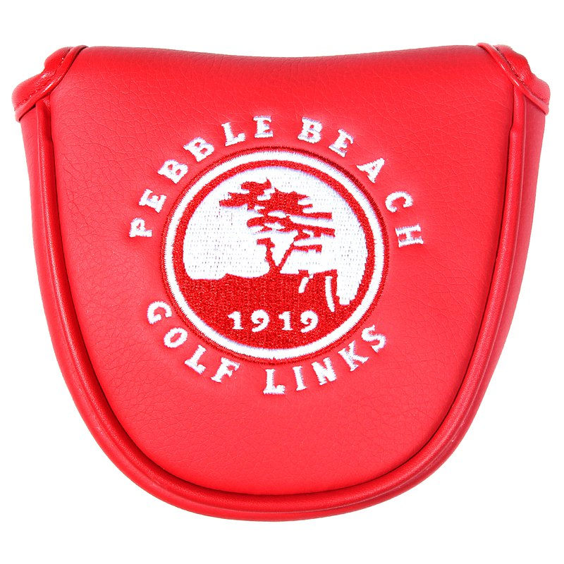 Free Shipping Siranlive Golf Mallet Putter Cover Magnetic Closure Pure White Shield Headcover