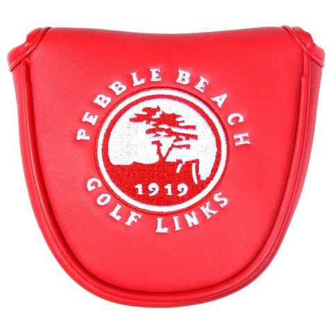 Frete Grátis Siranlive Golf Mallet Putter Capa Fecho Magnético Branco Puro Escudo Headcover