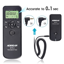 цена на AODELAN Camera Wireless Shutter Release Timer Remote Control for Canon EOS R,RP,Rebel T7i,200D,70D,77D,80D,EOS 6D MARK II