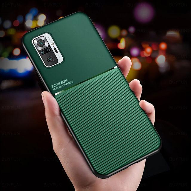 יוקרה Flip טלפון מקרה עבור Xiaomi Redmi הערה 10 פרו מקרה TPu בחזרה כיסוי על Xiomi Mi 11 Ultra Mi11 לייט Note10 פרו מעטפת 6D שריון