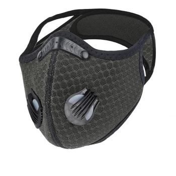 Unisex Sport Face Mask Activated Carbon Filter Dust Mask PM 2.5 Anti-Pollution Running Training MTB Road Bike Cycling Mask