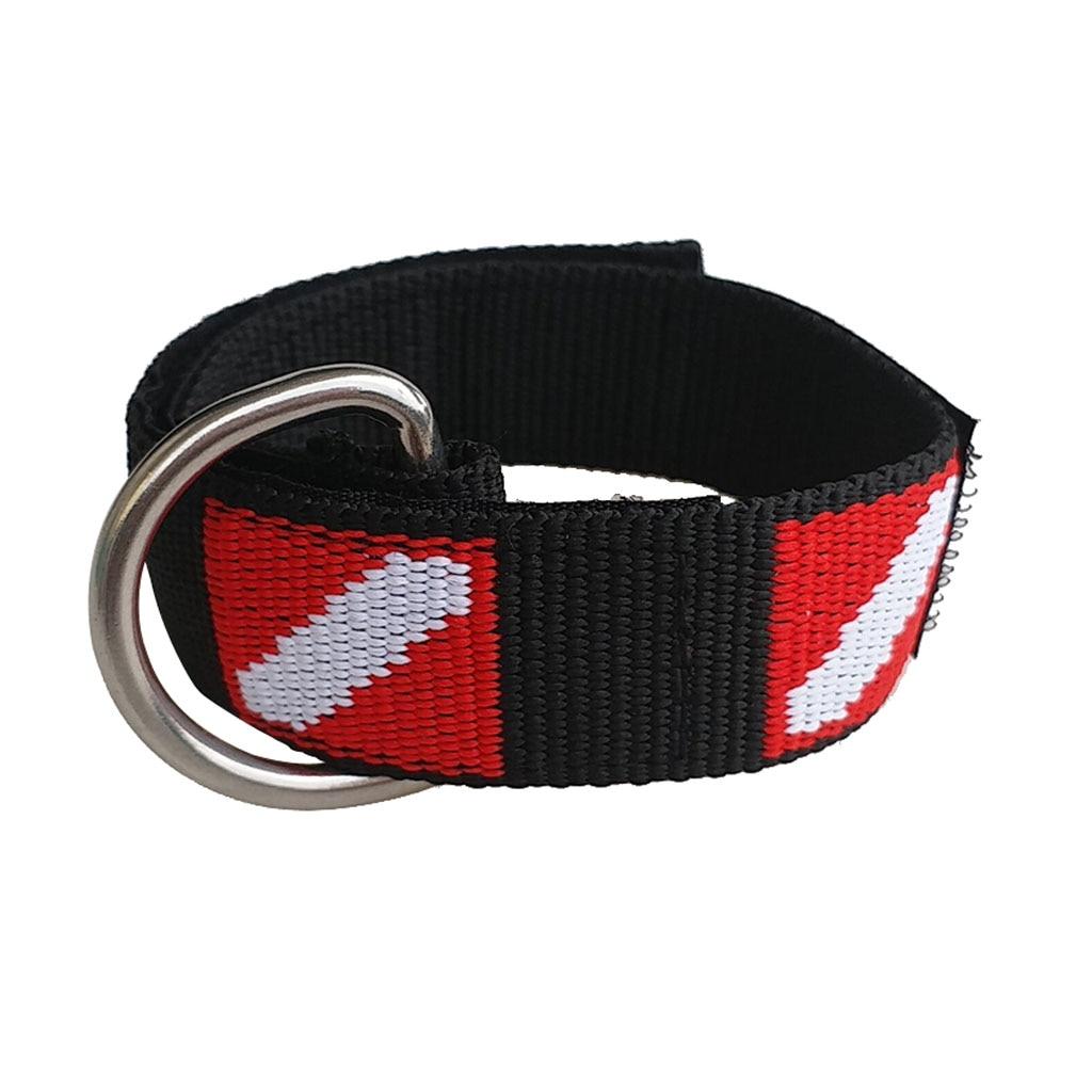 Portable Dive Wrist Strap & D Ring For Scuba Diving Gear Accessories - Functional & Durable