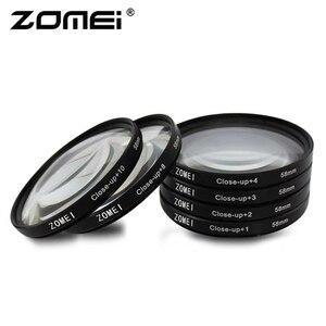 Image 3 - Zomei ماكرو عن قرب عدسة تصفية 1 2 3 4 8 10 الزجاج البصري كاميرا تصفية 40.5/49/52/55/58/62/67/72/77/ 82 مللي متر لـ DSLR SLR