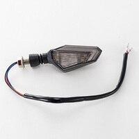 Motorcycle LED Signal Light DRL Blue Yellow Warning Lamp 3000K 12V Parts Set Kit -