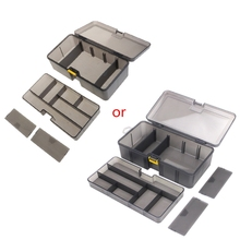 Multi-division Dual Layer Tool Storage Box Multifunctional Organize Fishing Lure G88A