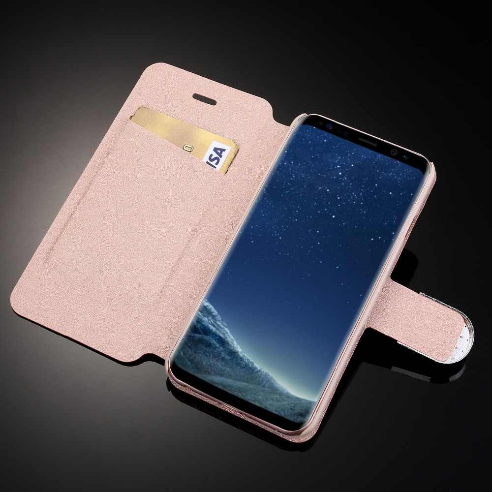 L-FADNUT для samsung S9 чехол S10 S8 Plus роскошный элегантный 3D кожаный чехол-кошелек с подставкой и бумажником чехол для Galaxy S7 S6 край S5 нео-Записка 8