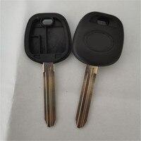 DAKATU LOGO ile yedek araba anahtarı durum Toyota Camry Highlander Yaris Reiz Transponder anahtar kabuk TOY43 bıçak