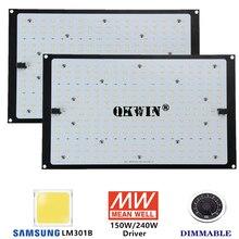 Alta qualità QB 120W 240W Led coltiva la scheda luminosa spettro completo Samsung LM301B SK 3000K 3500K 4000K 660nm fai da te