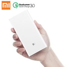 Xiaomi Power Bank 20000mAh 2C Original Portable Charger Support QC3.0 Dual USB Mi External Battery 20000 for Mobile Phones