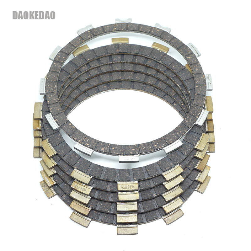 Motorcycle Clutch Friction Disc Plates Set For Suzuki Savage 650 LS650F LS650P S40 Boulevard LS650 SP600 DR500 SP500