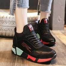 2019 New Platform Sneakers Runing Shoes for Women Sports Wild Female Leisure Walking Chunky Dad