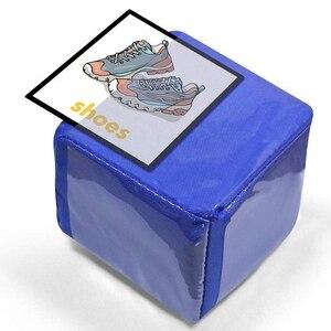 Image 4 - DIY edukacja gra w kości, kieszonkowe kwadratowe serwetki, kieszeń na zdjęcia piankowe bloki do układania w stosy zestaw 4 sztuk
