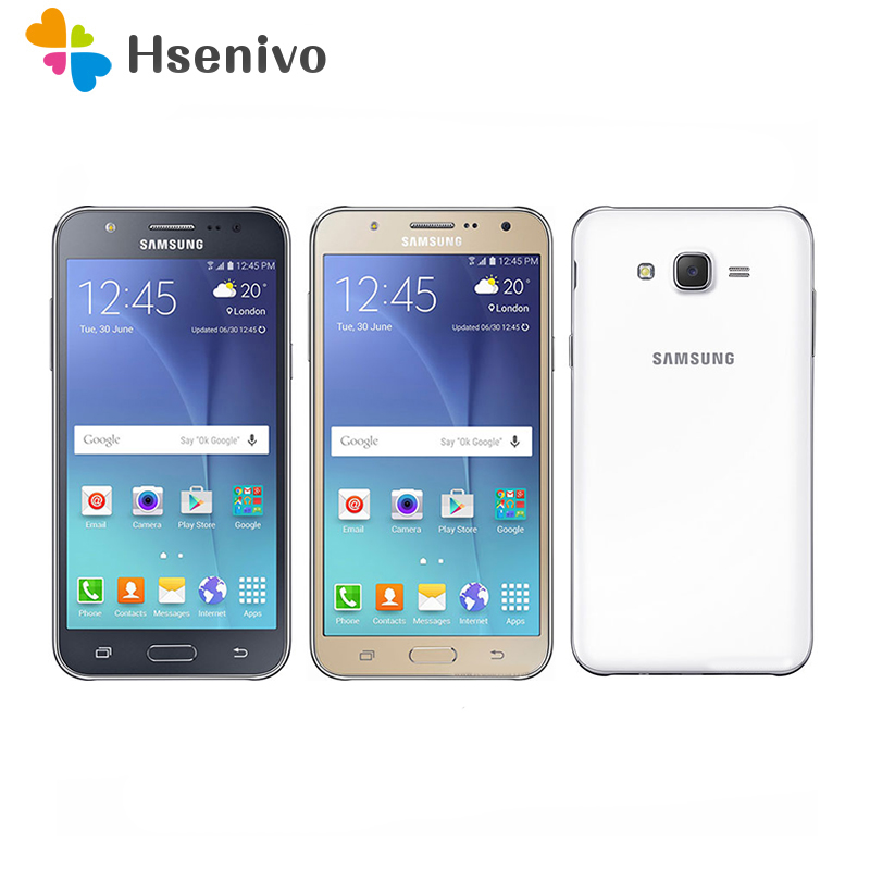 Original Samsung Galaxy J7 Unlocked Duos GSM 4G LTE Android Mobile Phone Octa Core Dual Sim 5.5
