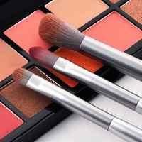 Makeup Brushes Cosmetics Brush 8Pcs/Set Foundation Powder Tools Mini Silver Makeup Brushes Set pincel maquiagem Synthetic  PH1