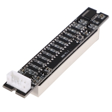 Amplifier-Board Vu-Meter 12-Level-Indicator Stereo Light Adjustable Mini Dual