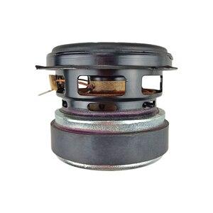 GHXAMP 30 Вт 3-дюймовый сабвуфер с полным диапазоном басов, громкоговоритель с длинным ходом, портативный громкоговоритель из алюминиевой резины, 3 ом, 1 шт.