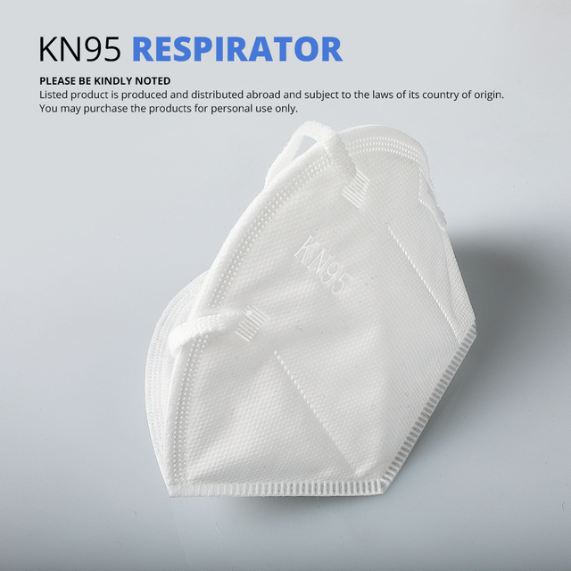 KN95 Nonwoven Dust Face Masks Dustproof Mask 5-Ply 95% Filtering Safety Protective KN95 Mask Nonwoven Anti-Haze Fog Face Masks 5