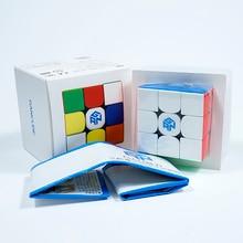 Gan356R S 3X3 Magic Cube Speed 3X3 Professionele Palyer Stickerloze Gan356 R 3X3 Cubo magico Ges V2 Gan 356 R Puzzels Voor Volwassenen