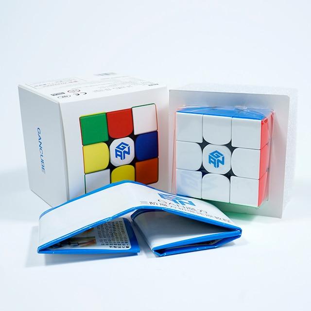 Gan356R S 3x3 Magic Cube Speed 3x3 Professional Palyer Stickerless Gan356 R 3x3 Cubo Magico GES v2 Gan 356 R Puzzles For Adults