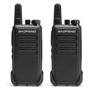 Image 2 - 2 個baofeng BFC9 BF C9 ミニトランシーバーbf 888s uhf帯usb高速充電ハンドヘルド 2 ウェイアマチュア無線cbラジオcommunicator